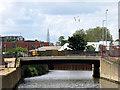 TQ3883 : Marshgate Lane bridge by Stephen Craven