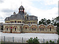 TQ3883 : Abbey Mills pumping station by Stephen Craven