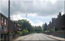 SK3950 : Cromford Road approaching Victoria Road junction by John Firth