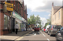 SK3950 : Grosvenor Road at High Street junction by John Firth