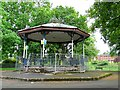 NX9775 : Bandstand, Dock Park by Rose and Trev Clough