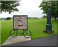 SN4020 : Carmarthen Park information board by Jaggery