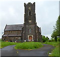 SN4020 : Grade II listed Church of St David, Carmarthen by Jaggery