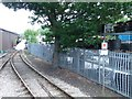 SE3030 : Stop sign at the Middleton Railway by Christine Johnstone