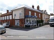 TG1022 : Police station, Reepham by Oliver Dixon