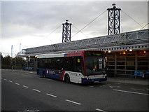 SO9596 : Leaving Bilston bus station by Richard Vince