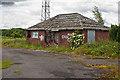SJ5584 : Derelict building by Ian Greig