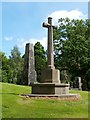 NS2676 : War Memorial in Greenock Cemetery by Lairich Rig