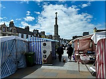NX4355 : Candy Striped Stalls by Andy Farrington