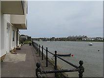 TQ2104 : Shoreham Footbridge over the River Adur by Dave Spicer