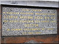 TQ4066 : Inscription on the drinking fountain at Hayes by Basher Eyre
