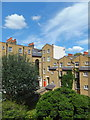 TQ2978 : Back of houses in Bessborough Place Pimlico by PAUL FARMER