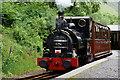 SH6706 : No.1 'Talyllyn' at Abergynolwyn Station, Gwynedd by Peter Trimming