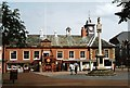 NY4055 : Old Town Hall and Market Cross Carlisle by Douglas Nelson