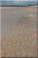 NJ0464 : Ripples on Findhorn Beach by Anne Burgess