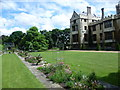 TQ3079 : Lambeth Palace from the terrace of the rose garden by Marathon