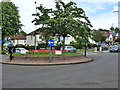 SP1081 : Roundabout in Hall Green at junction of Sarehole Road with Cole Bank Road by Ruth Sharville