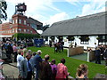 TL6161 : The July Course, Newmarket - The winners' enclosure by Richard Humphrey