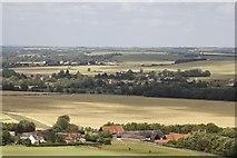 SU5981 : View past Streatley Farm by Bill Nicholls