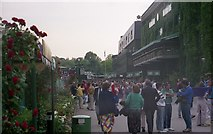 TQ2472 : Wimbledon 1987 - South Concourse by Barry Shimmon