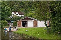 SU9948 : Guildford Rowing Club by Ian Capper