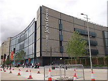 TQ3884 : Westfield John Lewis and Waitrose, Stratford by David Anstiss