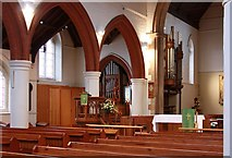 TQ3068 : St Philip, Beech Road, Norbury - Interior by John Salmon