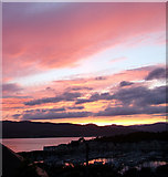 NS2072 : Inverkip sunset by Thomas Nugent