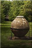 TQ1352 : Urn by Carl Ayling