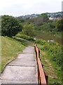 TR1834 : Royal Military Canal Steps by Gordon Griffiths