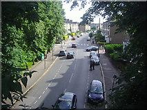 TQ3187 : Upper Tollington Park from Parkland Walk by David Howard