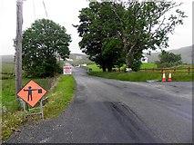 G7689 : Road at Cronkeeran by Kenneth  Allen