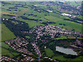 NS4062 : Kilbarchan from the air by Thomas Nugent