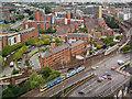 SJ8397 : Railways at Castlefield by David Dixon
