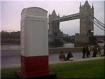 TQ3380 : Artbox and Tower Bridge by Stephen Craven