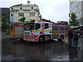 SJ3490 : Yellow submarine now it's a Pink Fire Engine by Richard Hoare