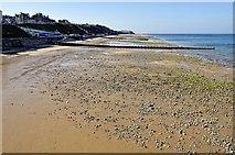 TG2142 : Cromer beach - west of pier by Julian Dowse