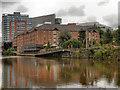 SJ8298 : River Irwell by David Dixon