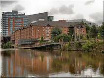 SJ8298 : River Irwell by David Dixon
