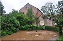 SY0995 : Ottery St Mary : Town Mill & Circular Weir by Lewis Clarke