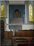 NZ0772 : The Parish Church of St Mary the Virgin, Stamfordham, Dixon Memorial by Alexander P Kapp