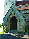 NZ0772 : The Parish Church of St Mary the Virgin, Stamfordham, Porch by Alexander P Kapp