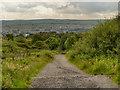 SD6821 : Looking Back Towards Darwen by David Dixon