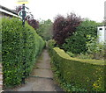 ST5476 : Public footpath from Avonleaze to the Portway, Bristol by Jaggery