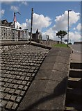 SX9473 : Steps and ramp, Teignmouth by Derek Harper