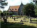 ST3964 : Former St Anne's church and churchyard, Hewish by Jaggery