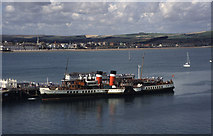 SY6878 : Commercial Pier, Weymouth by Chris Allen
