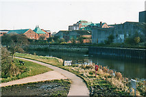 SK7954 : Newark: a bend in the Trent, 2002 by John Sutton