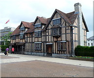SP2055 : Grade I listed Shakespeare's Birthplace, Stratford-upon-Avon by Jaggery