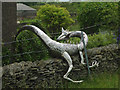 NY5905 : Dragon spotted at Greenholme! by Karl and Ali